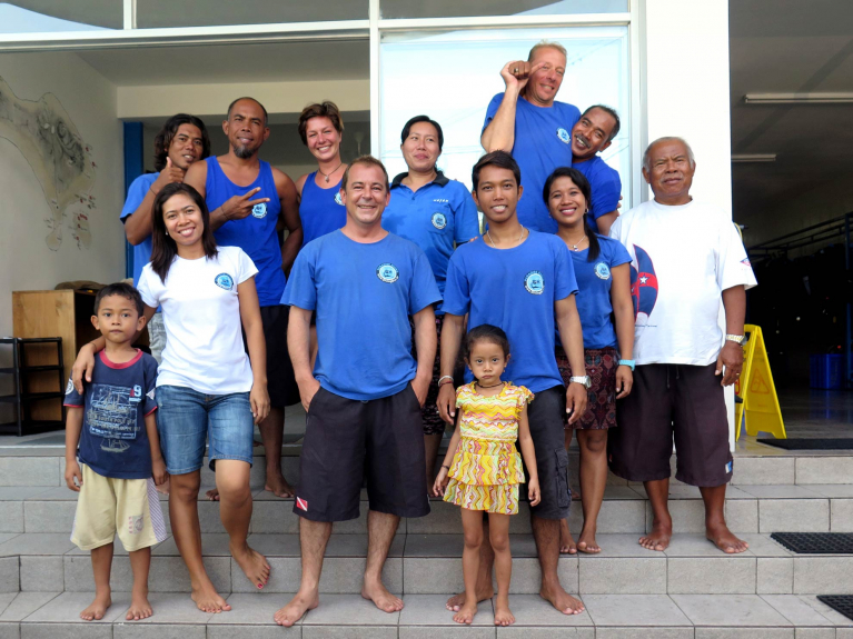 Das Team von PT. Paradise Diving Indonesia – Bali