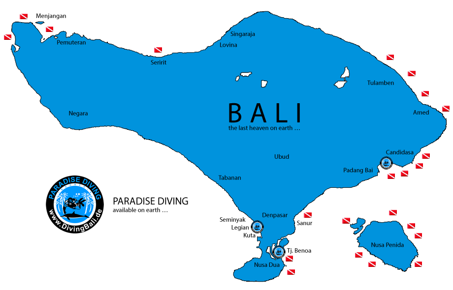 Tauchen Bali - Deutsche Tauchschule - PT. Paradise Diving Bali